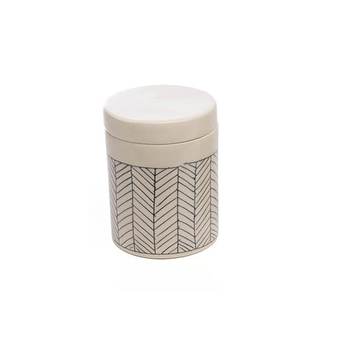Herringbone Sugar Keeper