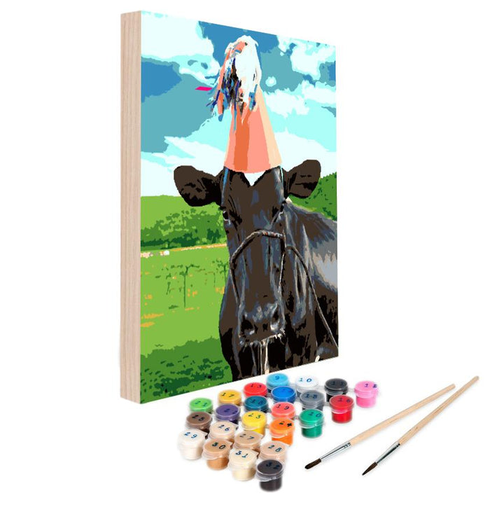 Paint By Numbers Kit - Party Mood