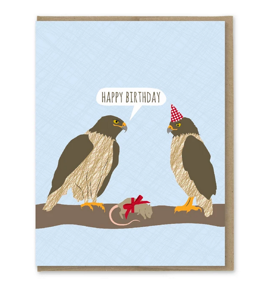 Awesome Hawks Birthday Card - MP5