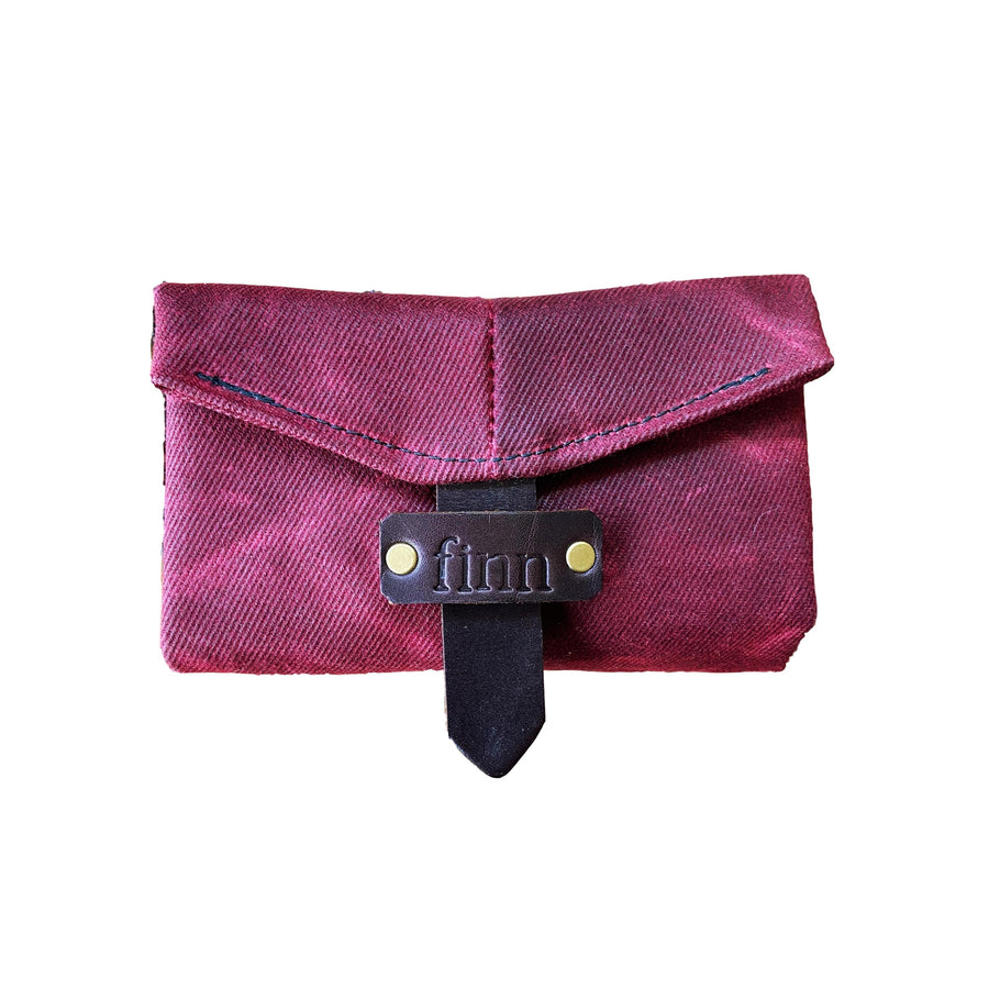 Utility Streamer Wallet Burgundy