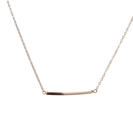 Quill Necklace in Sterling Silver