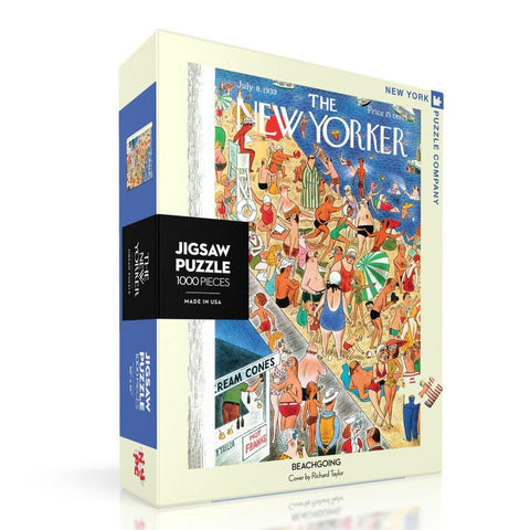 Beachgoing 1000 Piece Jigsaw Puzzle