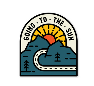 Going to the Sun Sticker