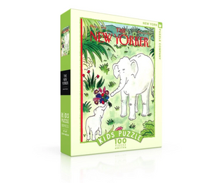 Flowers for Mama Elephant 100 Piece Kids Puzzle