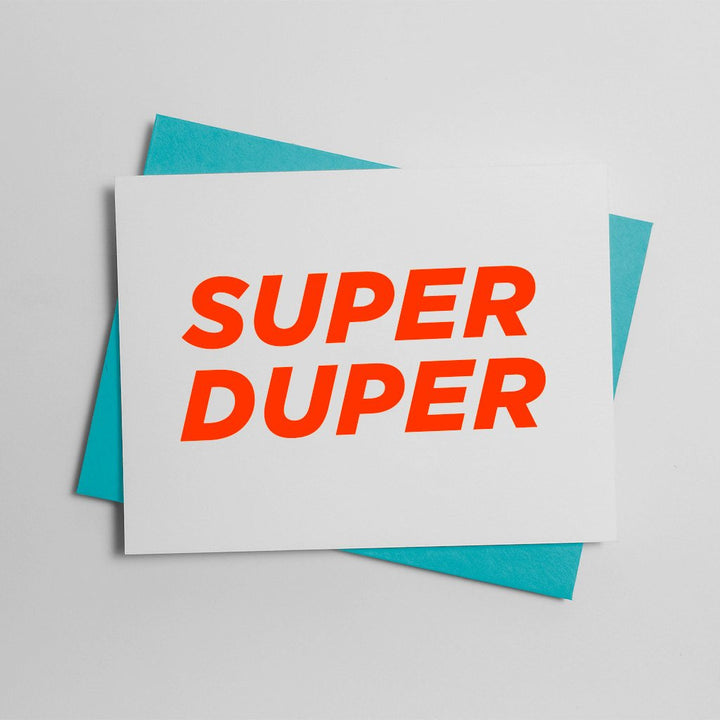 Super Duper Bold Card - LS2