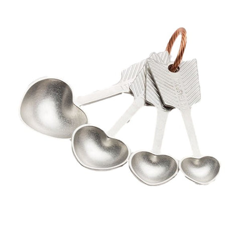Heart Measuring Spoon Set