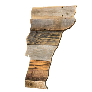Reclaimed Wood Vermont Wall Hanging