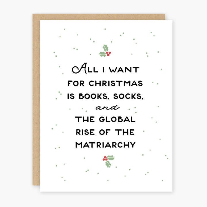 Rise of the Matriarchy Holiday Card - PO7