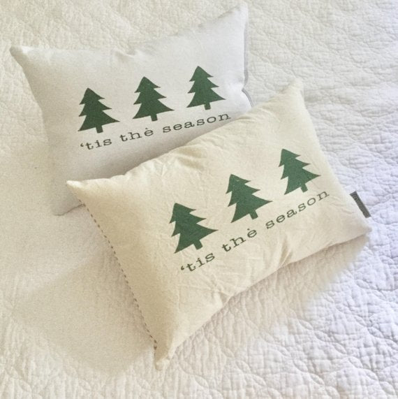 Tis the Season Canvas Pillow