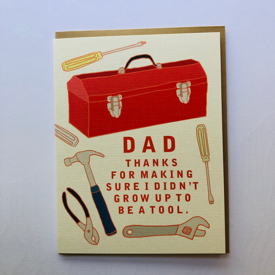 Grow Up to be a Tool Dad Card - Il2