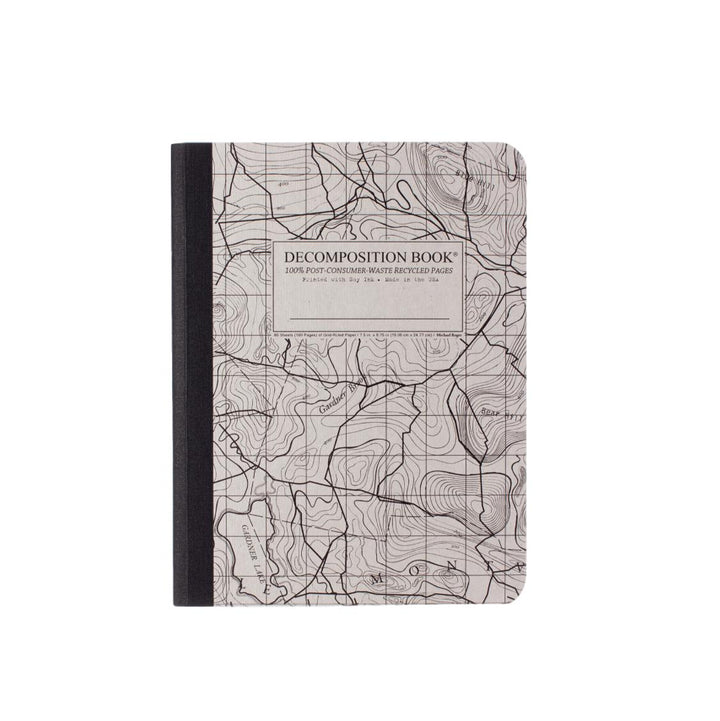 Decomposition Grid Notebook - Topographical Map