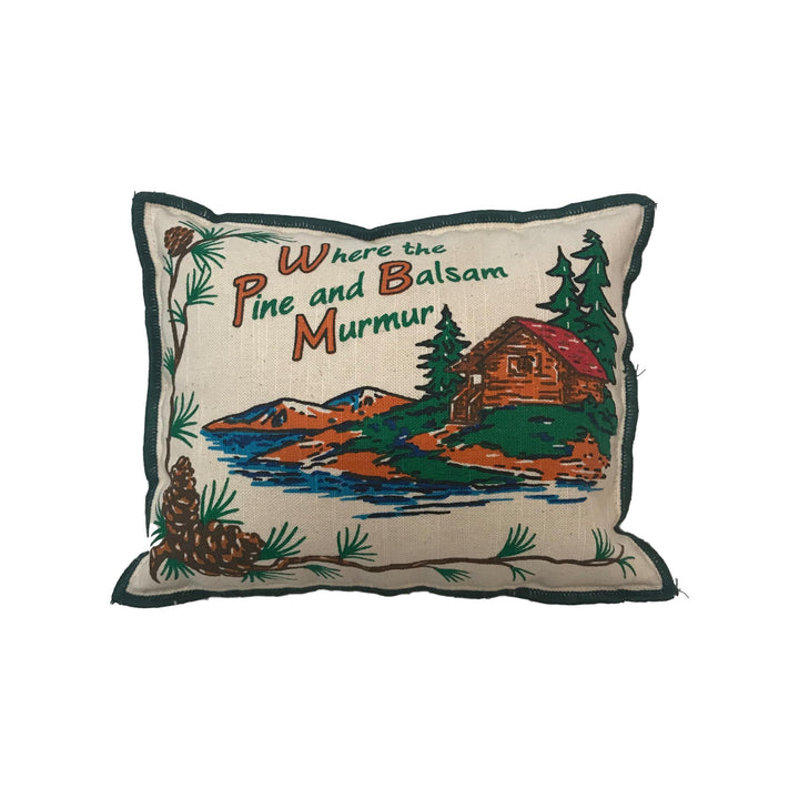 Large Balsam Pillow - Where the Pine and Balsam Murmur