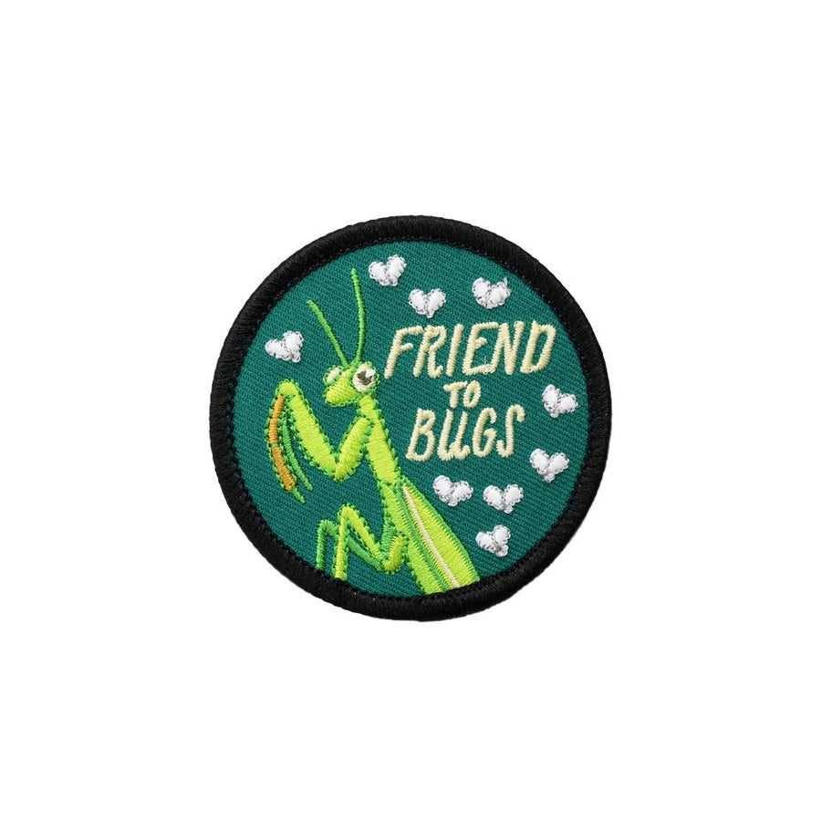 Friend to Bugs Iron-On Patch