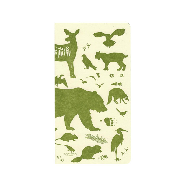 Woodland Animals Weekly Fill-in Planner