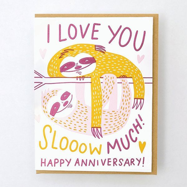 Slow Love Anniversary Card - EP1