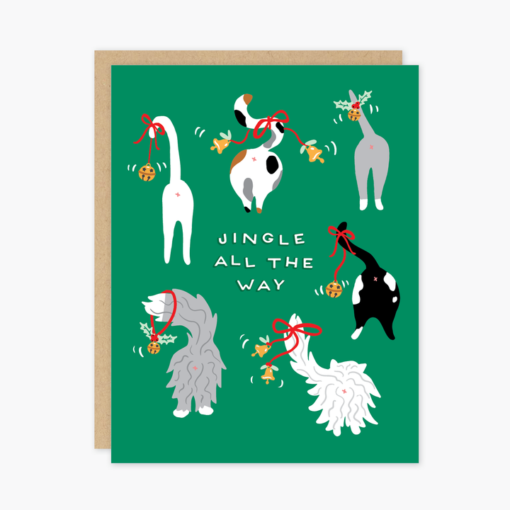 Jingle Cats Holiday Card - PO7