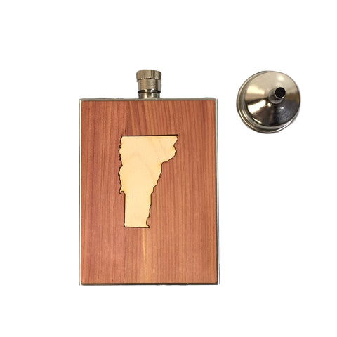 3 OZ Vermont State Flask