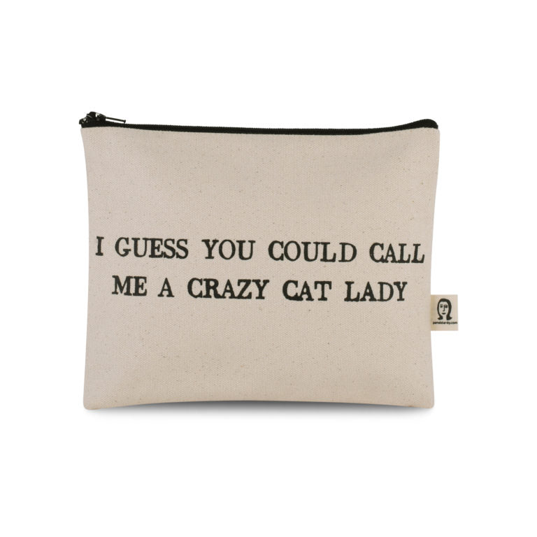 Crazy Cat Lady Canvas Pouch