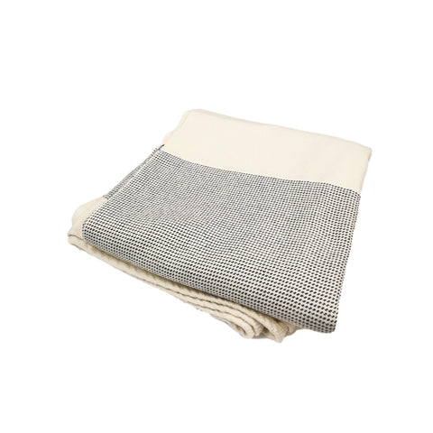 Chambray Cotton Lake Throw