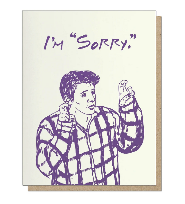 Sorry Quotes Card - GP3