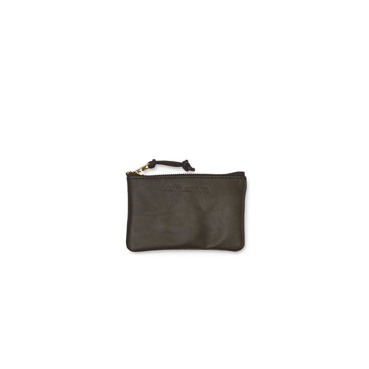 Filson Small Leather Pouch in Brown