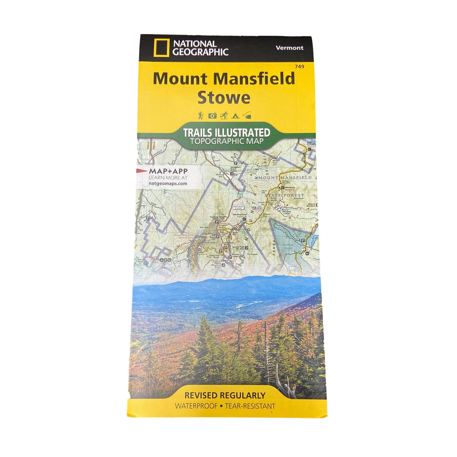 Mt Mansfield - Stowe Map