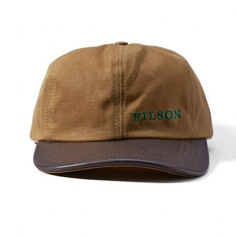 Filson Tin Leather Cap