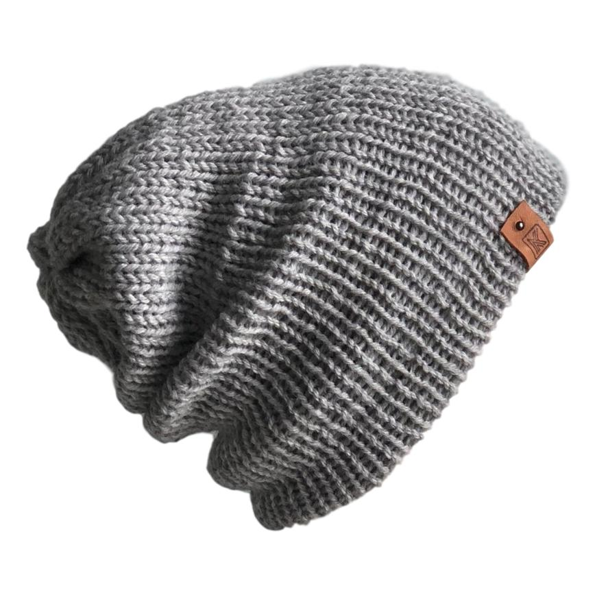343f75fbe38 Knit Slouchy Lambswool Beanie – Common Deer