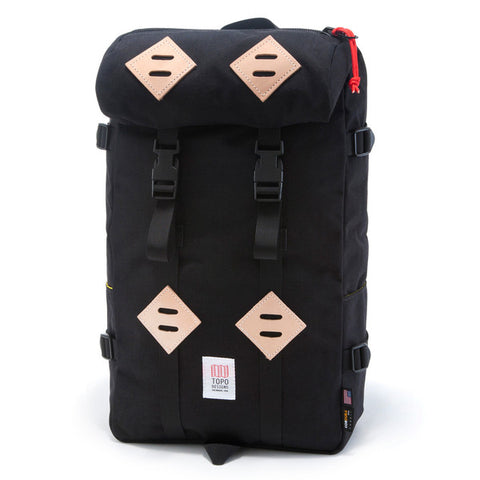 Topo Designs 22L Klettersack in Black