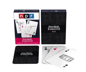 NPR's Tiny Desk Playing Cards