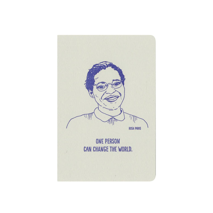 Inspiring Women Notebook - Rosa Parks