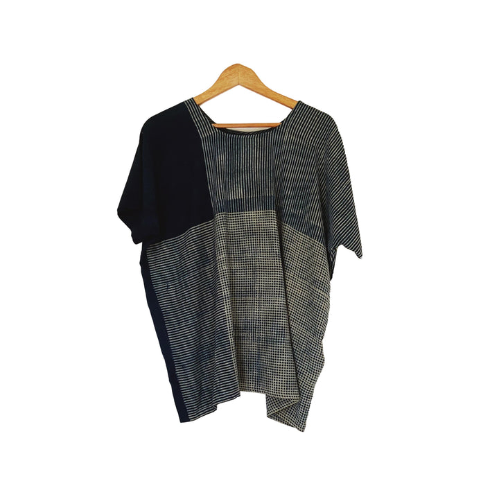 Hand-dyed Indigo T Shirt FINAL SALE