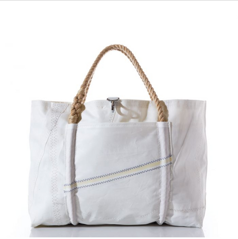 Sail Cloth Natural Rope Tote