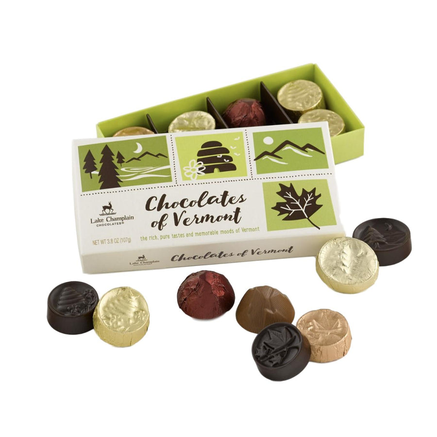 Chocolates of Vermont 8 Piece Box