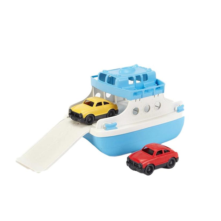 Eco-Friendly Toy Ferry Boat with Cars