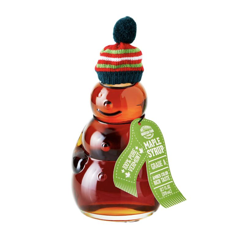 Holiday Snowman Vermont Maple Syrup - 12.7oz