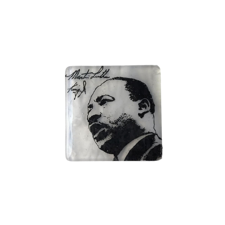 MLK Glass Coaster