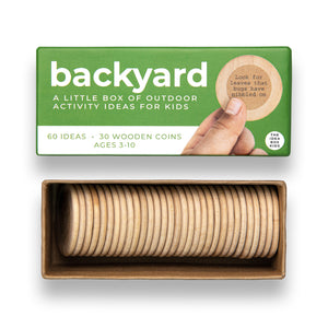 Idea Box - Kid's Backyard Nature Activities