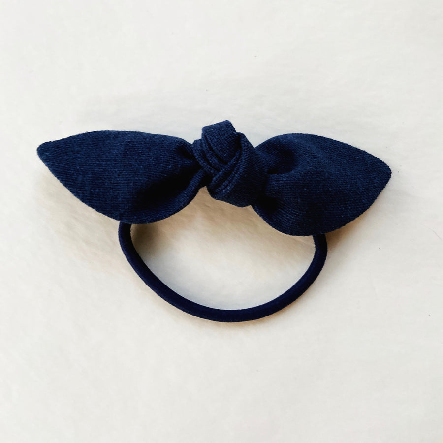 Cotton Bow Ponytail