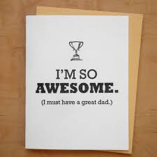 I'm So Awesome Dad Card - MB7