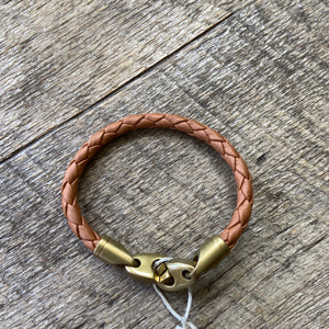 Journey Brummel Bracelet - Leather FINAL SALE