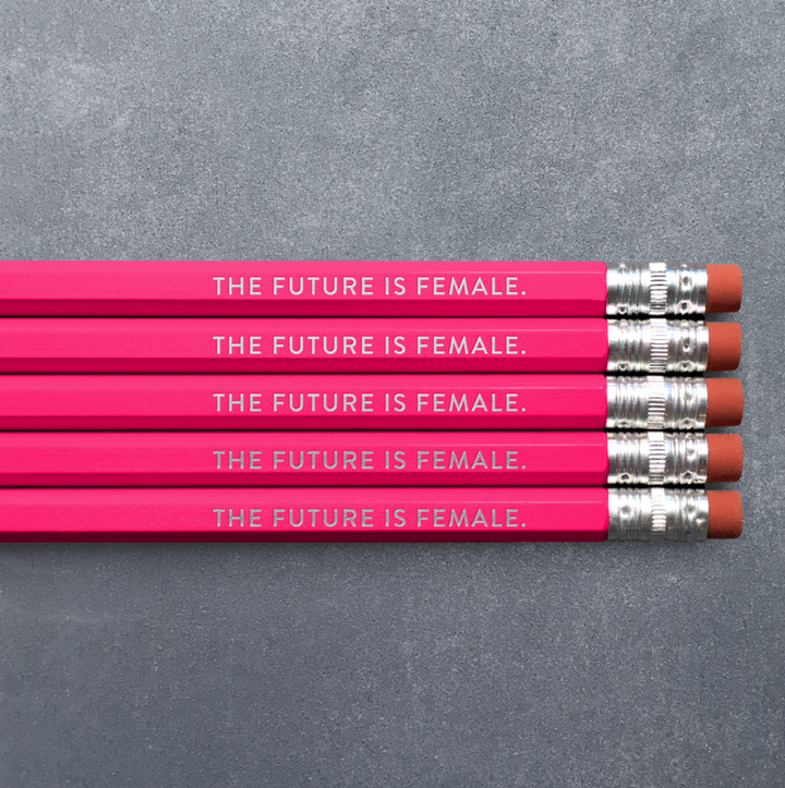 Pencil 5-Pack - The Future is Female