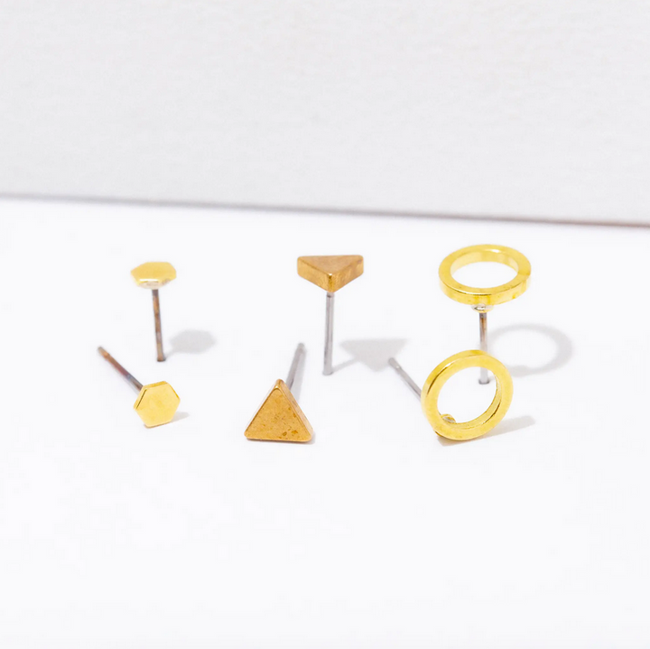 Shapes Post Earring Pack