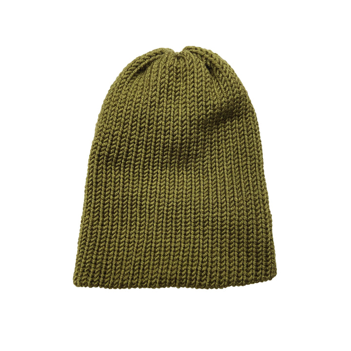 Vermont Knit Summit Hat - Avocado Green