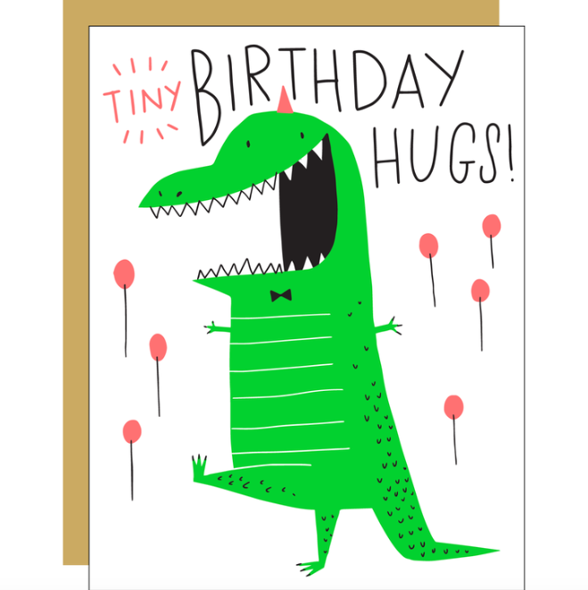 Tiny Hugs Dino Card - EP5
