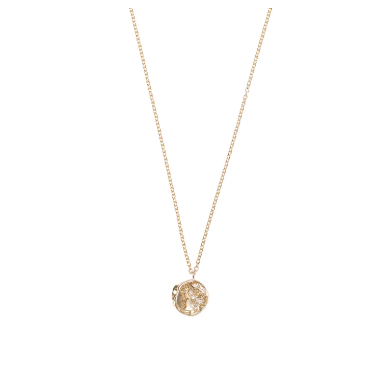 Gold Cameo Necklace