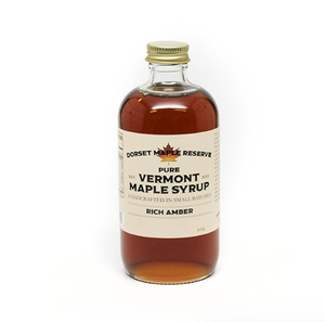 Rich Amber Vermont Maple Syrup  - 16oz