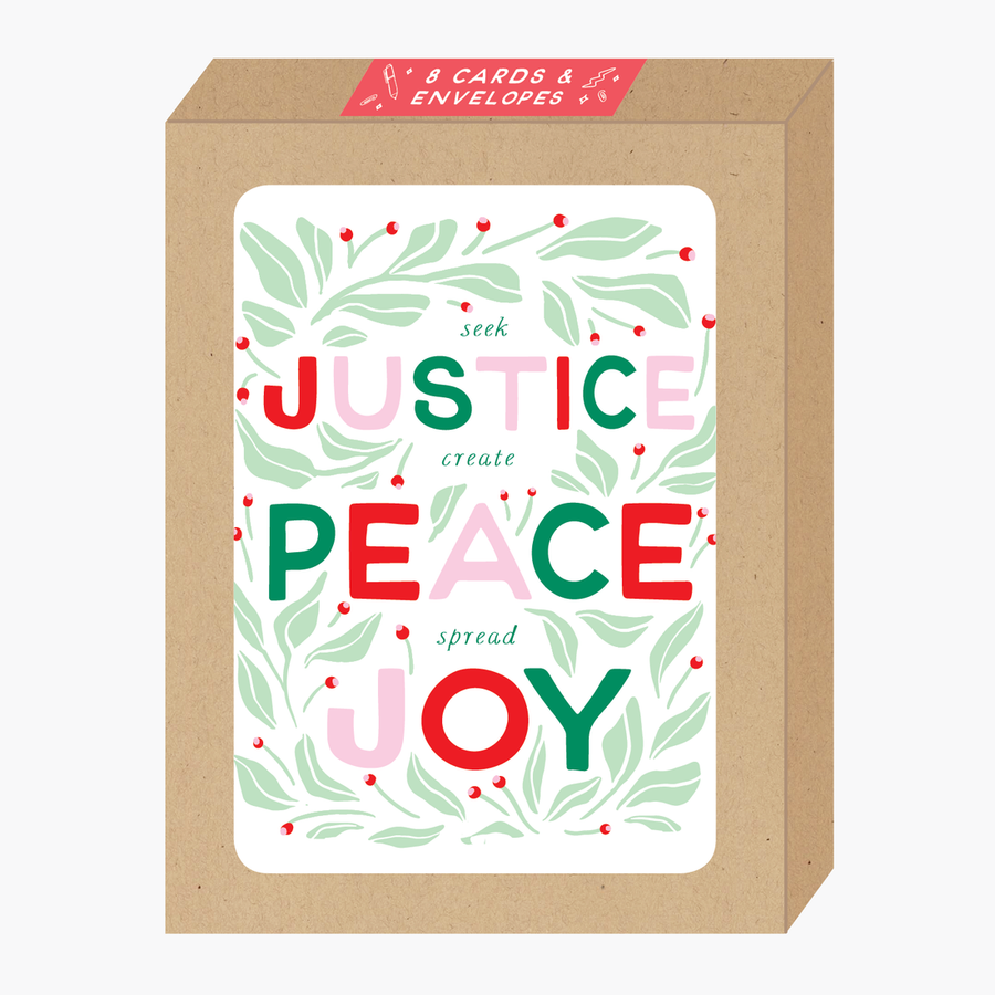 Justice Christmas Box Set of Cards