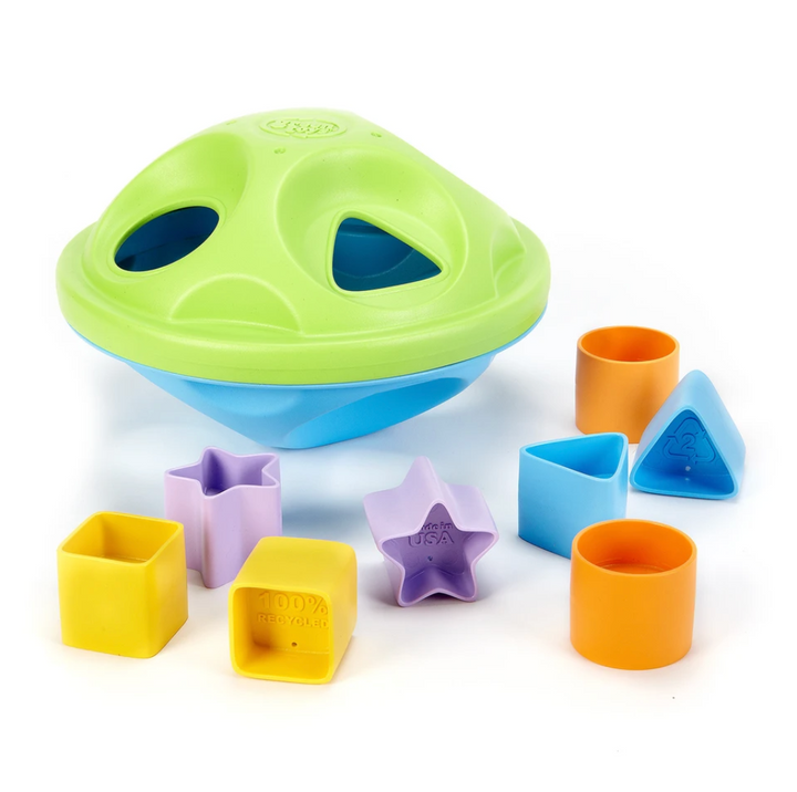 Eco-Friendly Toy Shape Sorter