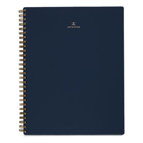 Appointed Notebook - Lined
